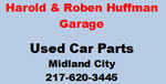 Harold and Roben Huffman Garage